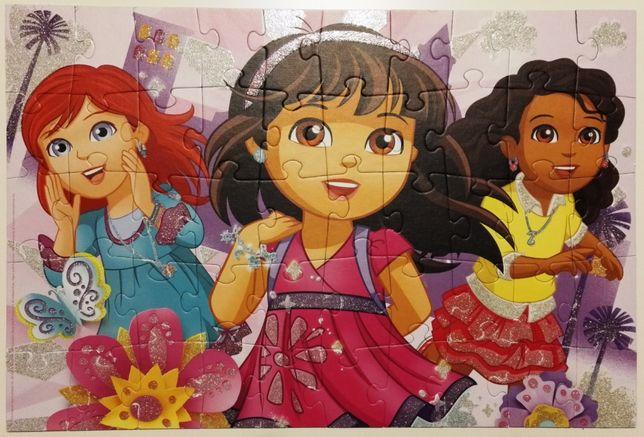 dora i przyjaciele dora and friends nickelodeon trefl puzzle puzle