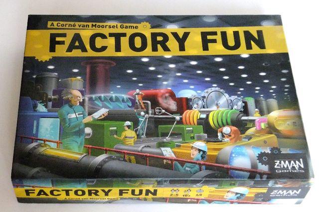 Настольная игра Factory Fun