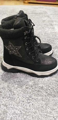 Ботинки tom. m зимние на девочку р,35 термо ботинки том.м
