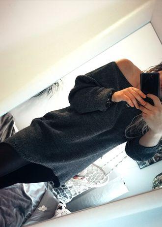 Długi sweter, sweterek oversize