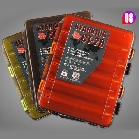 Коробка под воблеры двусторонняя от BearKing 27*18*5см
