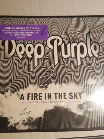 Deep Purple. A fire in the sky. Album 3xCD. Nowe.