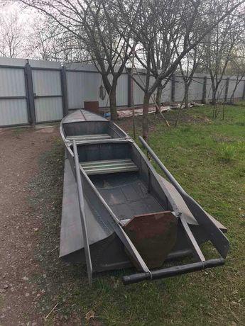 Лодка алюминиевая под мотор Южанка Казанка