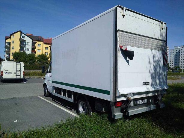 Mercedes Sprinter 411 cdi,kontener,winda,8ep,bliżniak
