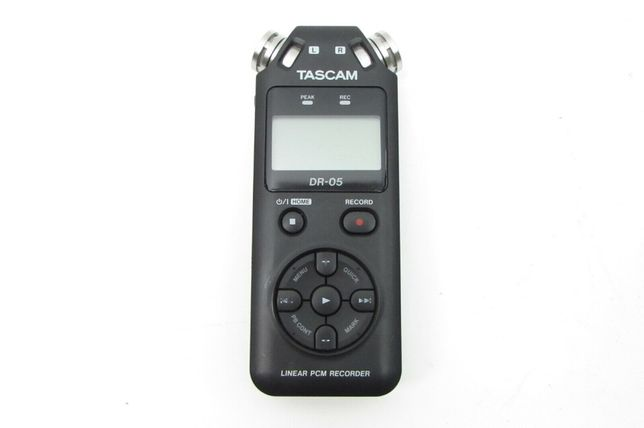 Tascam DR 05 диктофон рекордер аналог Zoom Sony Sennheiser