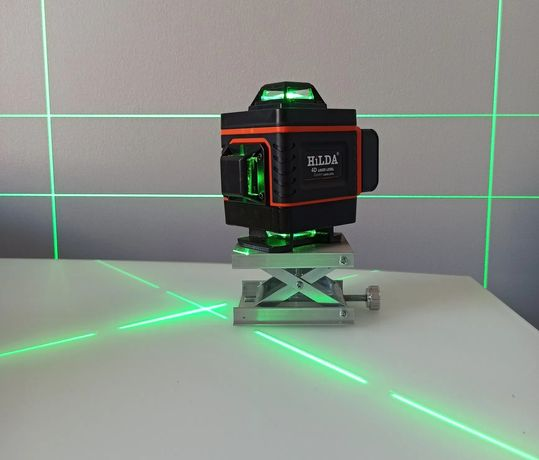 Лазерный уровень HILDA 4D 16 линий! лазерний рівень
