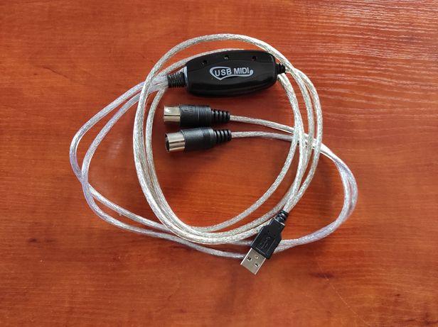 Kabel Midi USB 2m