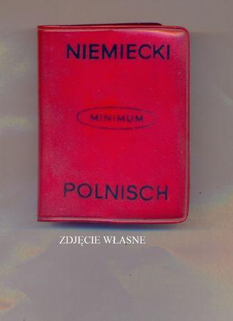 Słownik minimum niemiecko - polski i polsko - niemiecki