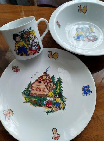 Набор посуды для детей. Чехия.