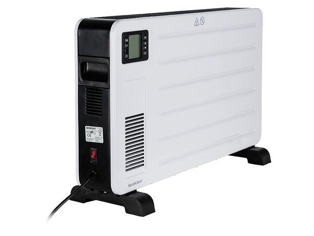 SILVERCREST® Grzejnik konwektorowy 2300 W z wyświetlaczem LCD
