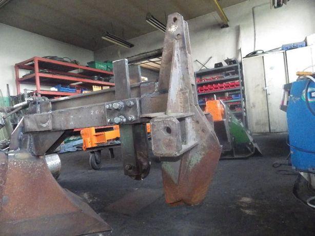 Serwis pługów leśnych (spawanie, toczenie, frezowanie CNC, osiowanie)