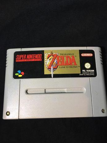 The legend of ZELDA a link to the past SNES super nintendo PAL, Japan