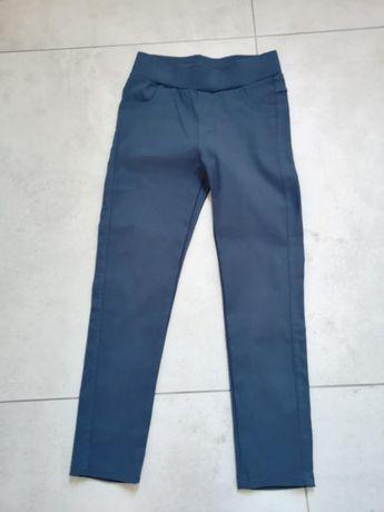 Spodnie leginsy dziewczęce 122-128 nowe