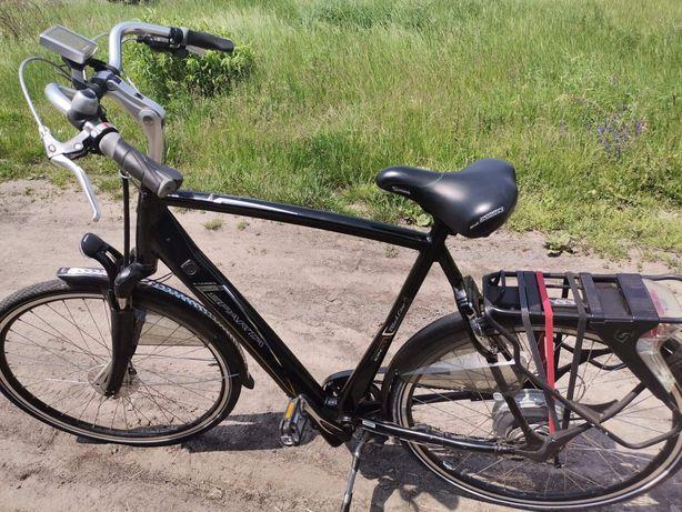 Rower SPARTA ze wspomaganiem elektrycznym
