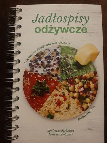 Książka jadłospisy odżywcze