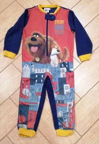 Флисовая пижама 104 р