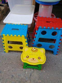 Стулья-трансформеры складные пластиковые, Большие, Маленькие, Детские