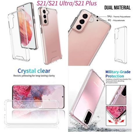 Capa Anti-xock Semi-rigida iPhone S21 / S21 Ultra / S21 Plus /S30/S30