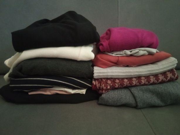 Zestaw paczka paka ubrań