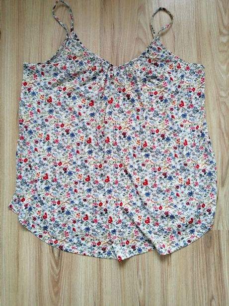Bluzka ciążowa / top ciążowy H&M Mama rozmiar S/M oversize