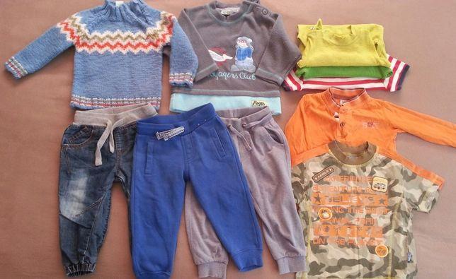 пакет комплект одежды вещей 80 размер штаны кофта боди одежда