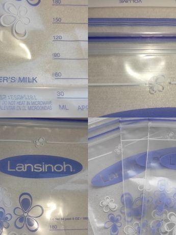 Пакеты для хранения и заморозки грудного молока Lansinoh