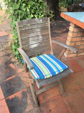Cadeiras de Jardim e Espreguiçadeira