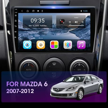 Автомагнитола Mazda 6 2008-2012 android