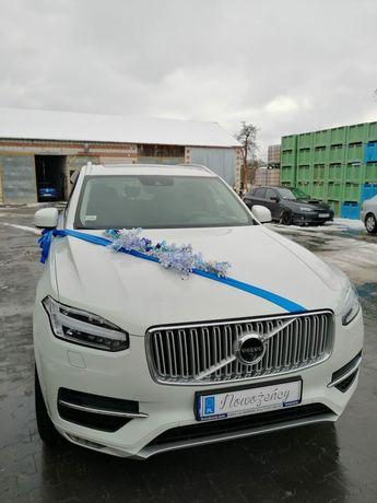 Auta do ślubu Mercedes E 200, BMW 5, Volvo XC90