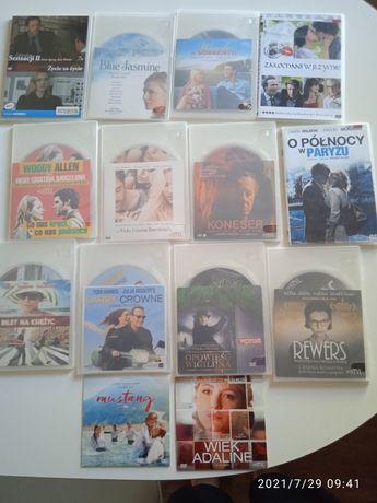 Płyty DVD filmy Allen inne nowe 14 sztuk