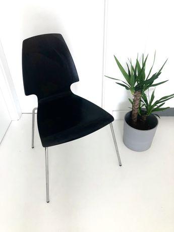 Krzesło czarne IKEA Vilmar