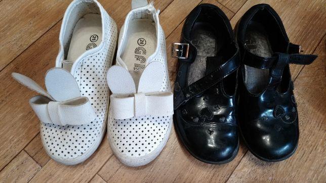 обувка для девочки, много