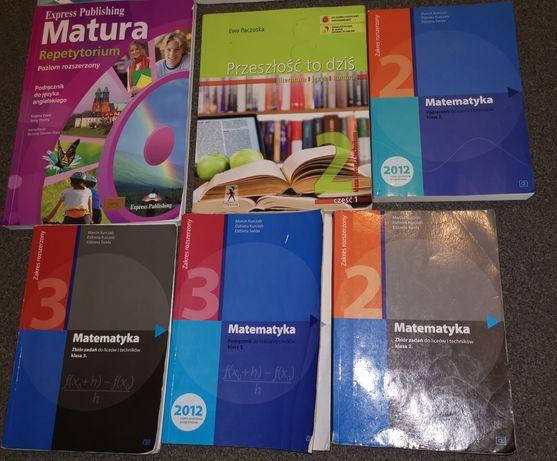 Podręczniki do 2 i 3 klasy liceum/technikum