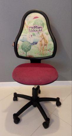 Krzesło obrotowe z jednorożcem pegazem / krzesło do biurka SCOUT