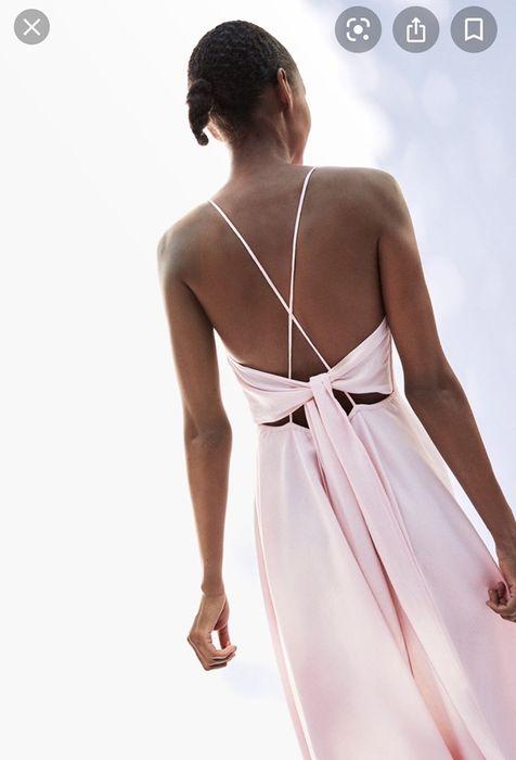 kopertowa sukienka o rozkloszowanym kroju dla druhny Zgorzelec - image 1