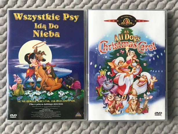 """""""Wszystkie psy idą do nieba"""", """"Pieskie święta"""" - 2 DVD (dubbing PL)"""