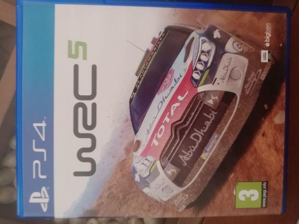 Jogo PS4 wrc 5 como novo.