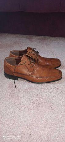 Pantofle , półbuty męskie brązowe rozm 42