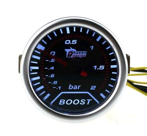 Manometro pressão do turbo boost 2 bares universal