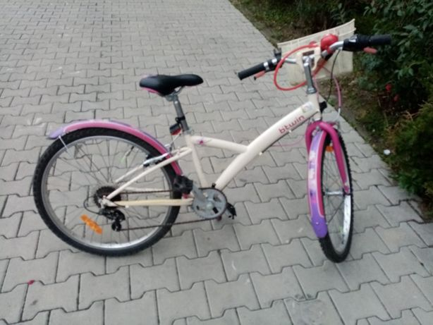 """Rower dla dziewczynki, B'twin Mistigirl 20"""""""