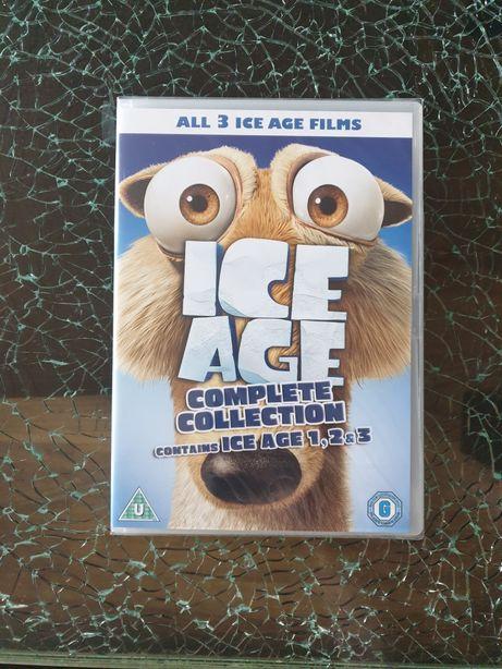 3 x Epoka Lodowcowa Ice Age Collection 3 DVD
