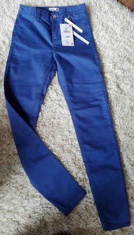 Spodnie RURKI jeans Sinsay XS NOWE