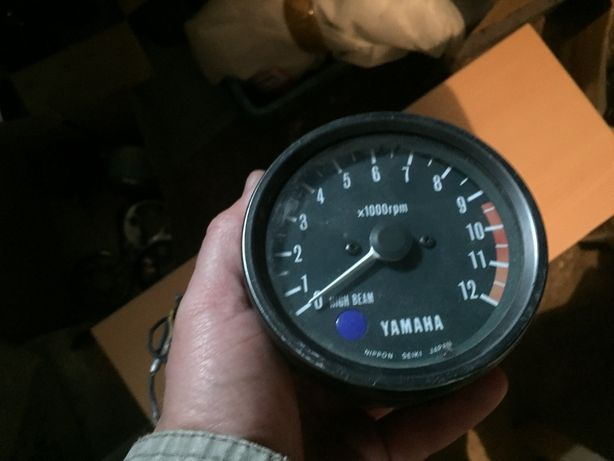 Yamaha XS 650 obrotomierz