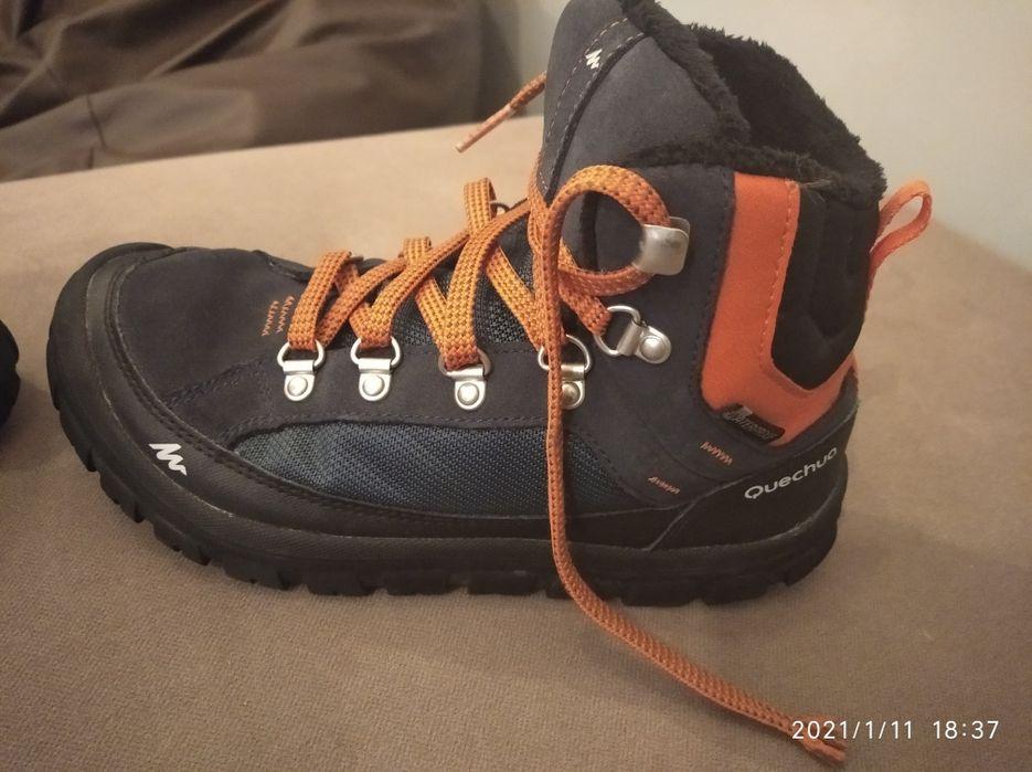 Buty chłopięce, zimowe, wodoodporne rozmiar 34 Barczewo - image 1