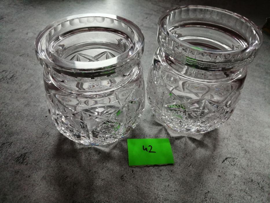 Kryształowe 2 wazoniki Kalisz - image 1