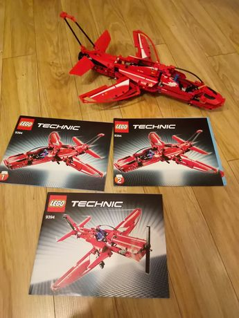 Lego Technic 9394 Odrzutowiec, samolot