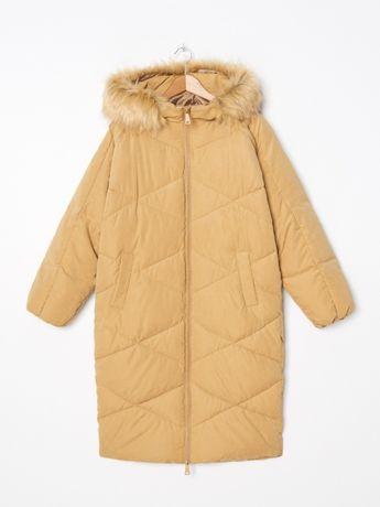 Стеганое пальто Oversize