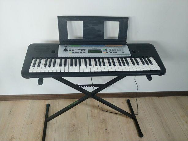 Keyboard Yamaha YPT-255 + stojak Stim