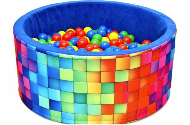 Suchy basen z ponad 300 piłkami kulkami (90x40cm) - kupiony w 2020