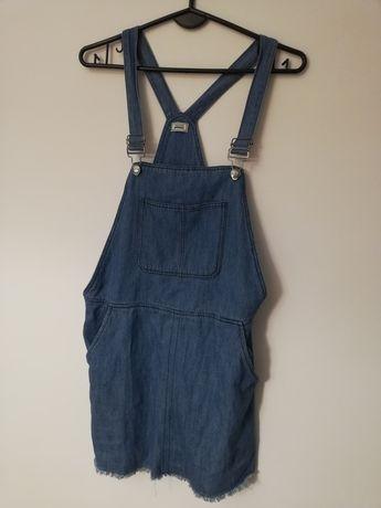 Jeansowa mini/ sarafan/sukienka/ogrodniczka